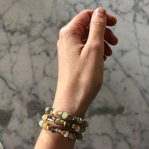 🌵 Beaded Crystal Stretch Bracelet